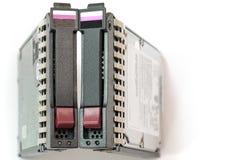 Paar Server Harde Aandrijving Stock Foto