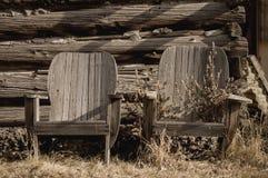 Paar stoelen Stock Foto's