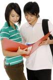 Paar-Studieren Lizenzfreie Stockbilder