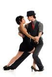 Paar-Tanzen-Tango Stockfotografie