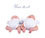 Paar tweelingen Royalty-vrije Stock Fotografie
