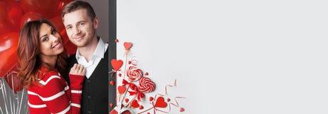 Paar- und Herzdekor stockfotos