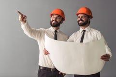 Paar van architecten stock foto