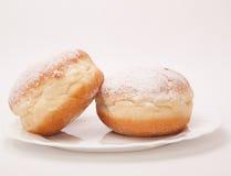 Paar van doughnuts Stock Fotografie