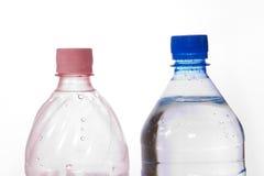 Paar van flessen Stock Afbeeldingen
