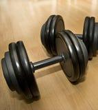 Paar van Gewichten Stock Foto's