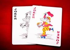 Paar van joker Royalty-vrije Stock Foto's