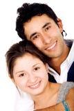 Paar van jonge mensen Royalty-vrije Stock Afbeeldingen