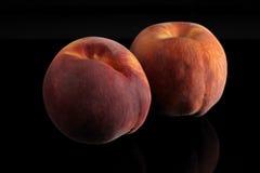 Paar van perziken Royalty-vrije Stock Foto's