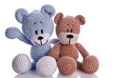 Paar van teddy stock foto's