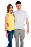 Paar van tieners Royalty-vrije Stock Foto