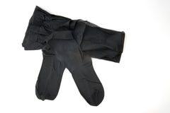 Paar van zwarte panty Royalty-vrije Stock Afbeeldingen