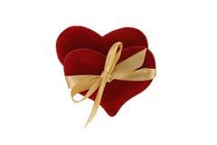 Paar verbonden harten Royalty-vrije Stock Foto's