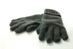Paar warme handschoenen stock foto