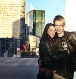 Paaraufstellung Lizenzfreies Stockbild