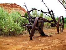 Paard Getrokken Ploeg stock foto's