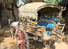 Paard getrokken taxi Royalty-vrije Stock Foto's