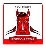Paard horse landbouwbedrijf, schone het paardstallen van Nice royalty-vrije illustratie