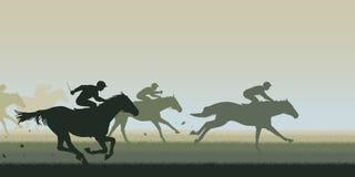 Paard Racing Stock Foto