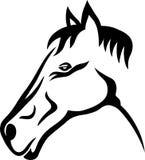 Paard stammen Stock Foto