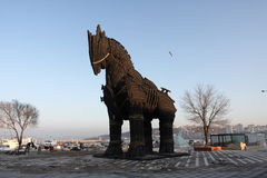 Paard van Troje Royalty-vrije Stock Afbeeldingen