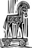 Paard van Troje Royalty-vrije Stock Foto