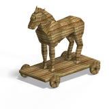 Paard van Troje royalty-vrije illustratie