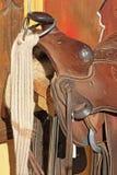 Paard zadel-11-1-09 036b Stock Afbeeldingen