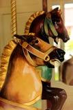 Paardcarrousel Royalty-vrije Stock Afbeelding