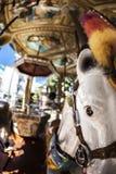 Paardcarrousel Stock Afbeelding