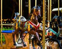 Paardcarrousel Royalty-vrije Stock Foto's