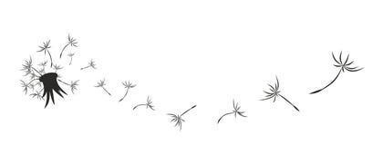 Paardebloemembleem vector illustratie
