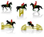 Paarden - 2 Stock Foto