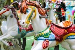 Paardencarrousel Royalty-vrije Stock Afbeelding