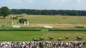Paardenrennen Berlijn Royalty-vrije Stock Afbeelding