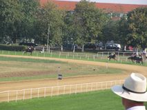 Paardenrennen in Servië Royalty-vrije Stock Fotografie