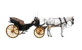 Paardkar Royalty-vrije Stock Afbeelding