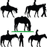 Paardmanege Royalty-vrije Stock Fotografie