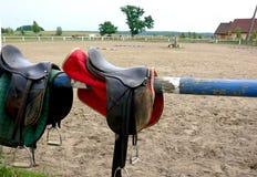 Paardrijdenpunt Stock Foto's
