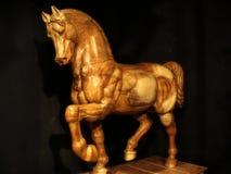 Paardstandbeeld Royalty-vrije Stock Foto