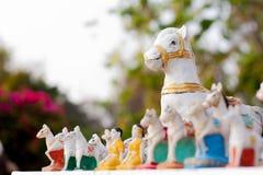 Paardstandbeeld Royalty-vrije Stock Foto's
