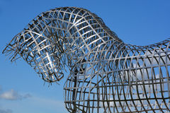Paardstandbeeld Royalty-vrije Stock Afbeelding