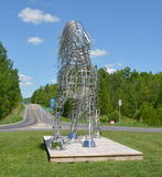 Paardstandbeeld Royalty-vrije Stock Afbeeldingen