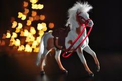 Paardstuk speelgoed Royalty-vrije Stock Afbeeldingen