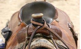 Paardzadel Stock Afbeelding