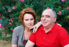 Paare ältere Personen Stockfotos