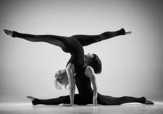 Paare acro Yoga Lizenzfreies Stockfoto