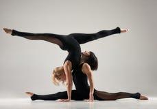 Paare acro Yoga Lizenzfreies Stockbild
