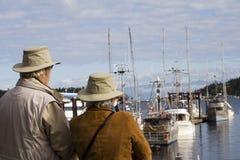 Paare auf Ferien Lizenzfreies Stockfoto