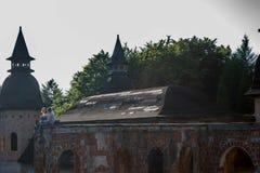 Paare auf Schloss Stockfotografie